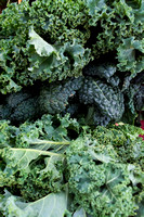 Frilly Kale Leaves